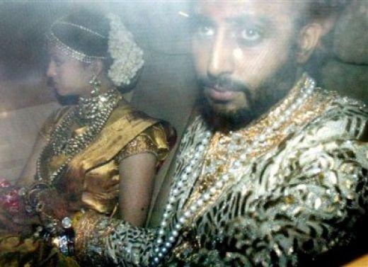 Aishwarya Rai Abhishek Bachchan Marriage Photos