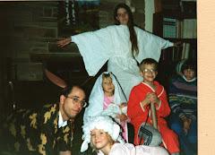 CHRISTMAS CHARACTERS 1987
