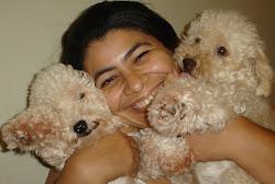 Pérola, eu e Layka