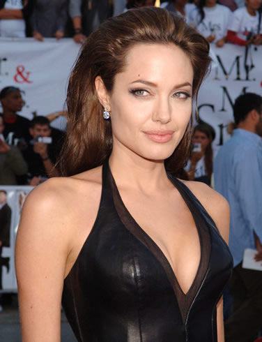 Angelina Jolie's Hair: 2009