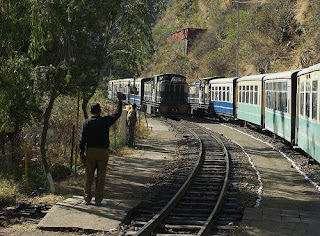 Shimla Bound Train