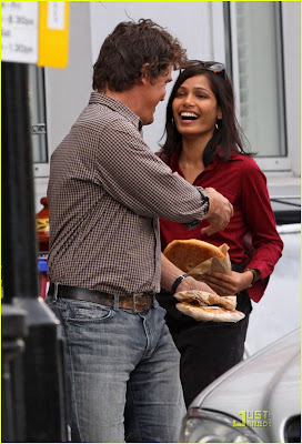 Freida Pinto Engagement with Josh