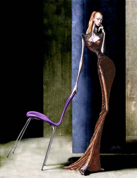 figurines de moda. Figurines de Moda