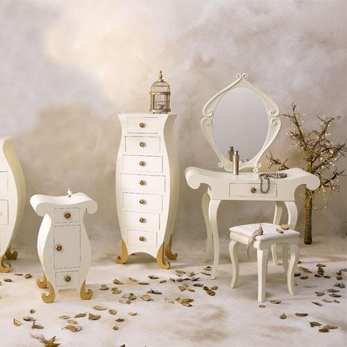 Busco silla blanca para este tocador decorar tu casa es for Sillas para tocador