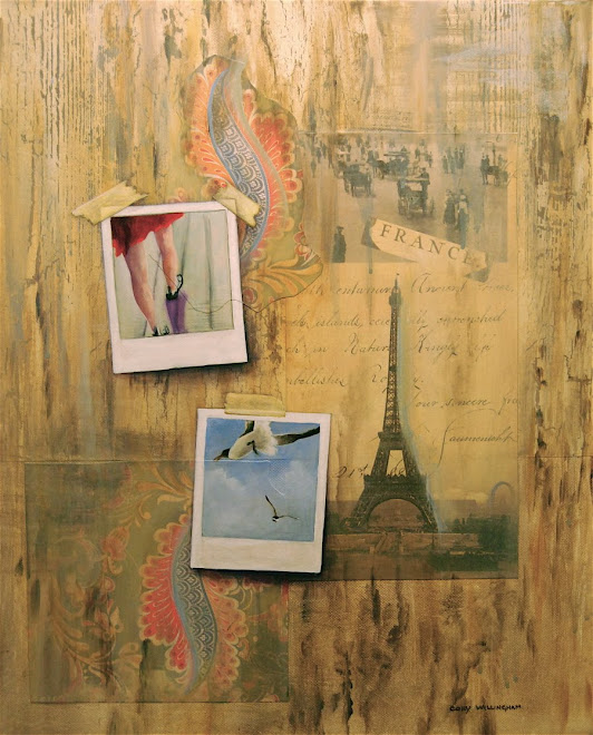 My new love affair with Polaroids and trompe l'oeil...