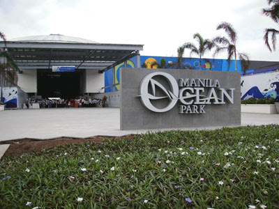 Manila Ocean Park, the PhPhP1-billion marine park constructed by Singaporean