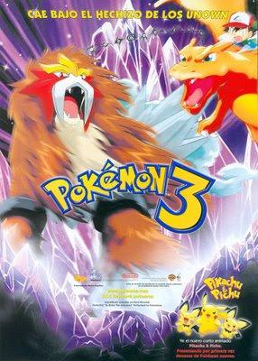 Pokémon 3: O Feitiço dos Unown Online Dublado