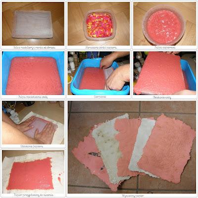 Jak zrobić papier czerpany w domu.