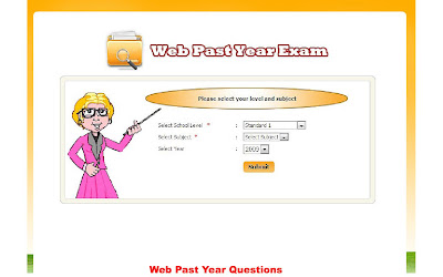 in web past year exam a student can assess to past year exam papers of