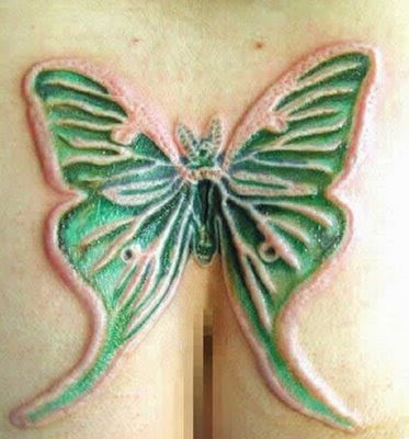 Horrible tattoo creations