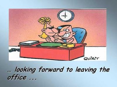 Leaving office soon