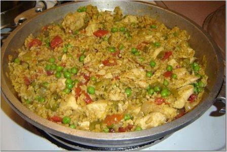 arroz con pollo foto de cocina org receta para el arroz con pollo el ...
