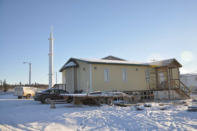 北極建清真寺 - 加拿大在北極建清真寺