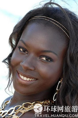 非洲哪裡出俊男美女