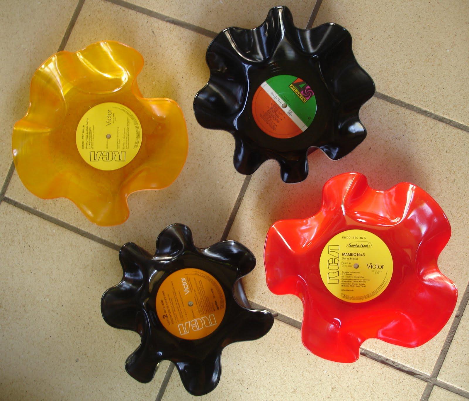 Lo que se puede hacer con cds y vinilos taringa - Manualidades con discos ...