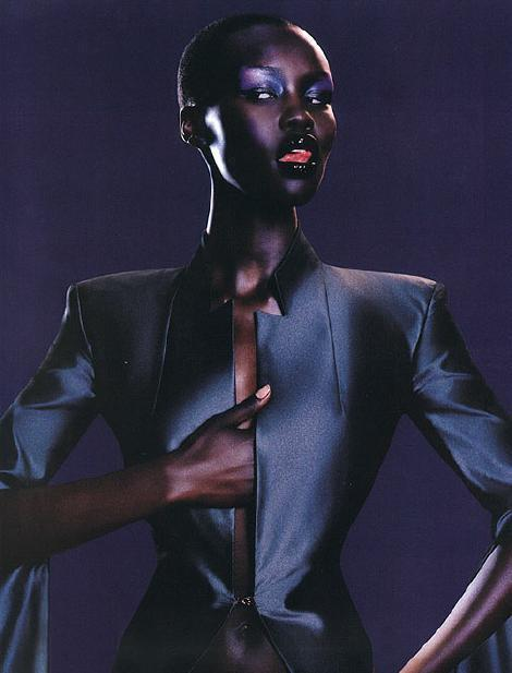 Alek Wek was 19 when she was approached by a model scout from a top London agency at a fair in Crystal Palace park. Her mother, she remembers, was horrified, thinking her daughter was about to.