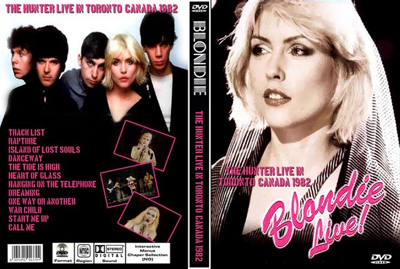BLONDIE - LIVE 1982 [Divx]