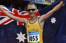 Aussie Wins Silver in 50Km Walk !!