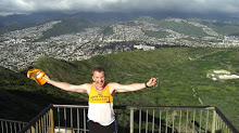 Ran to the Top of Diamond Head Mountain