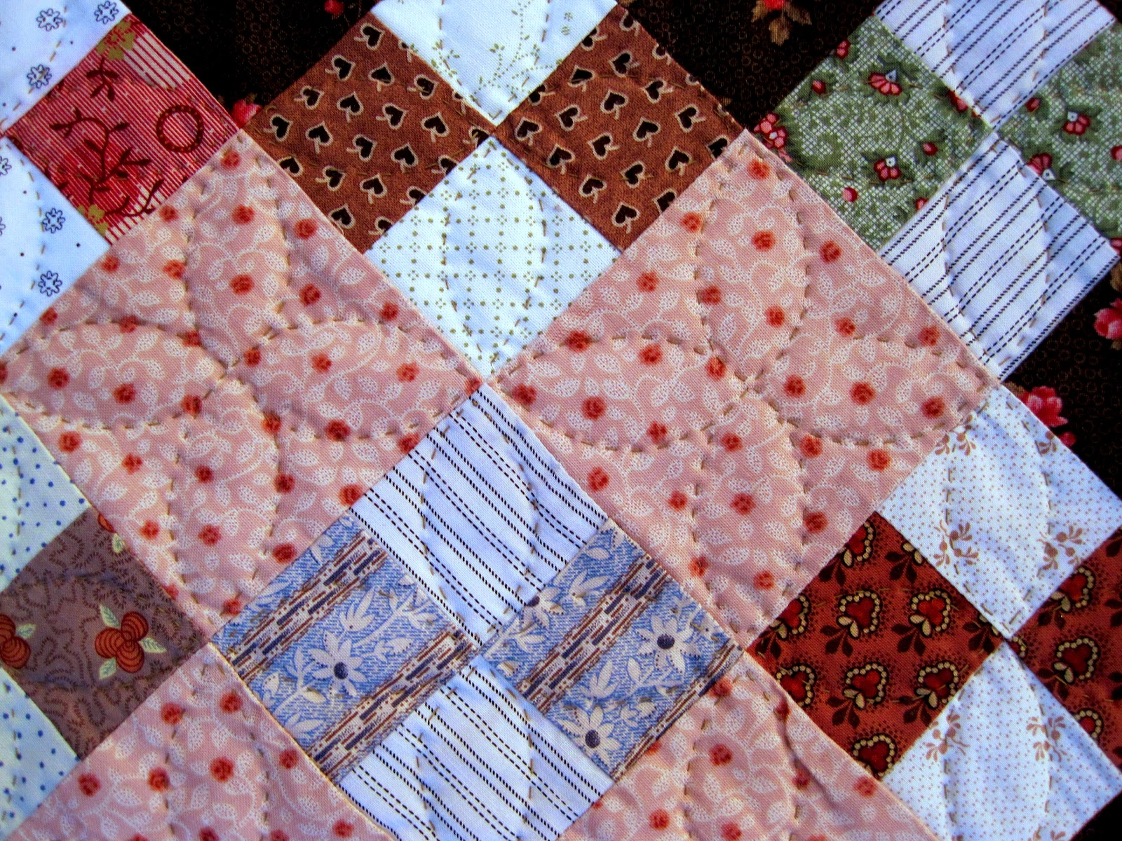 Marking Quilting Designs On Your Top : A Sentimental Quilter: Simple Quilting