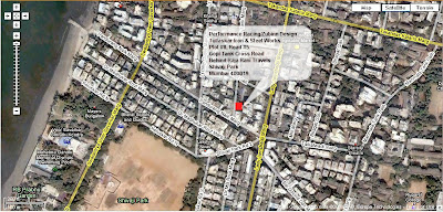 Map to Joe Rocket India mumbai store