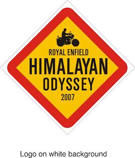 Royal Enfield Himalayan Odyssey 2007 Logo