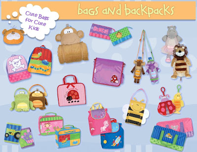 Groovy Kids Stuff: Stephen Joseph Kids Bags & Backpacks :  backpacks stephen groovy joseph