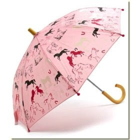 Funky Kids Stuff: Hatley - Kid's Prancing Horses Umbrella