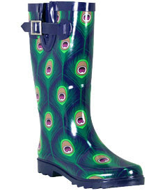 Girly Gear: Chooka Women's Peacock City Boot :  city chooka womens peacock city boot girly boot