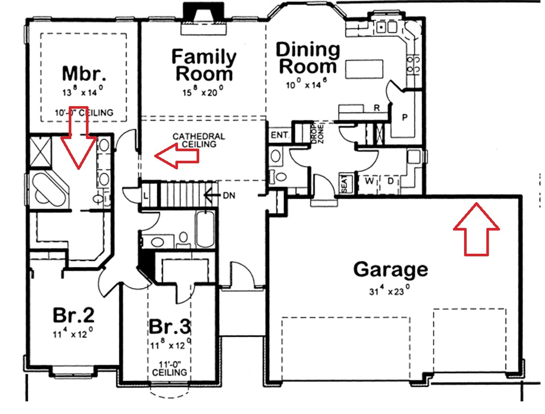 3 bedroom 2 bathroom house designs - Barn Plans Page May Spark Some Ideas For Your Own 3 Car Garage Plans