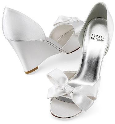 Elegant Silver Bridal Shoes
