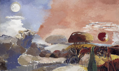 Vernal Equinox on Landscape Of The Vernal Equinox By Paul Nash