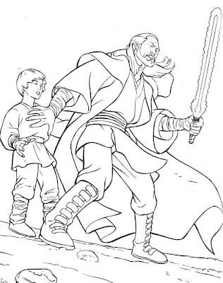 Excepcional Star Wars The Clone Wars Páginas Para Colorear Para ...