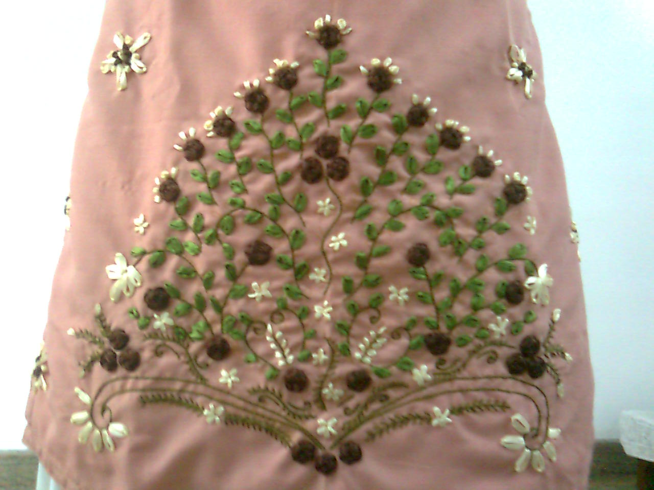 Ribbon Work Designs http://candycraft.blogspot.com/2011/01/ribbon-work-salwar_11.html