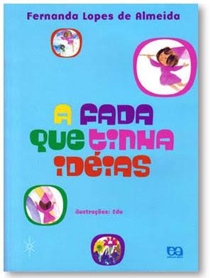 Livro infantil A Fada que tinhas ideias