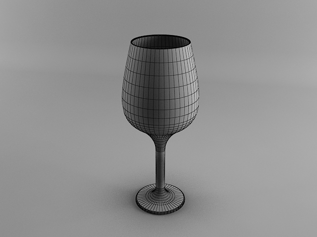 Wine glass 3ds max modeling tutorial tutorials for 3ds max Simple 3d modeling online