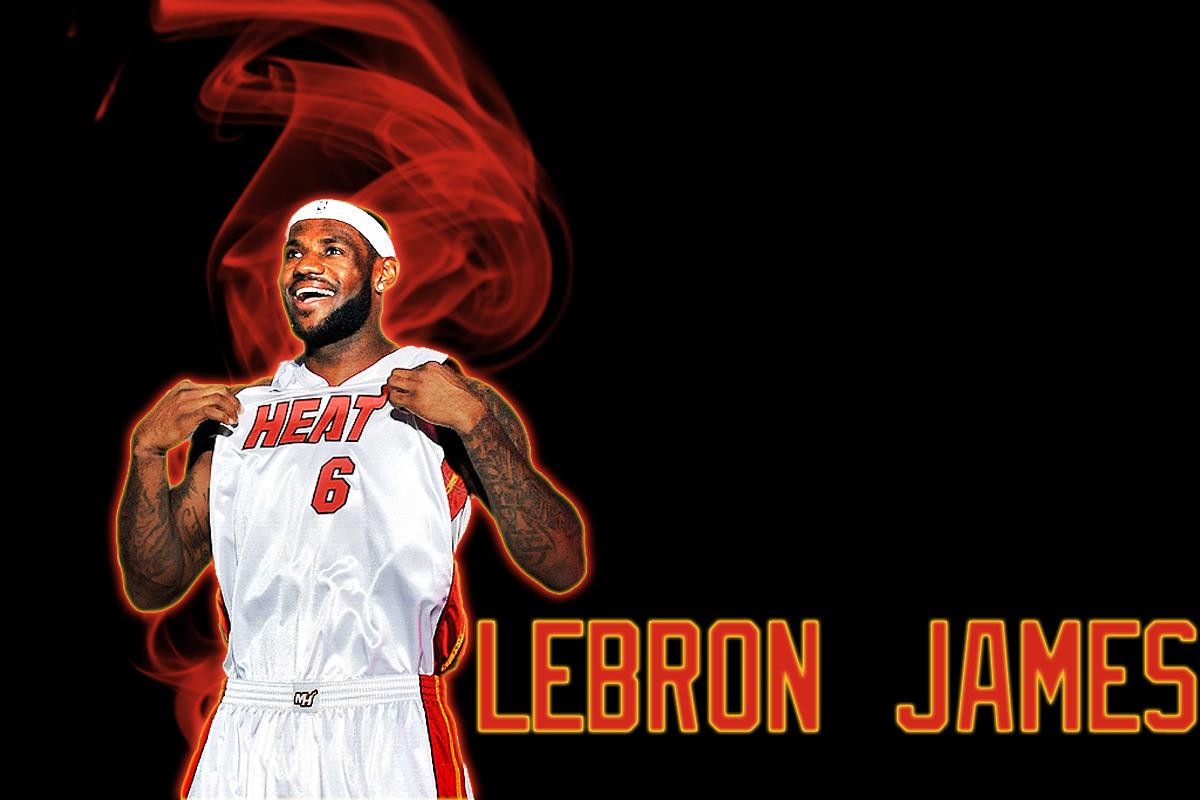 LeBron James Heat