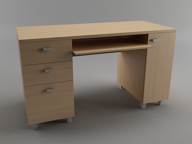 Computer Desk Wood Studio Designs