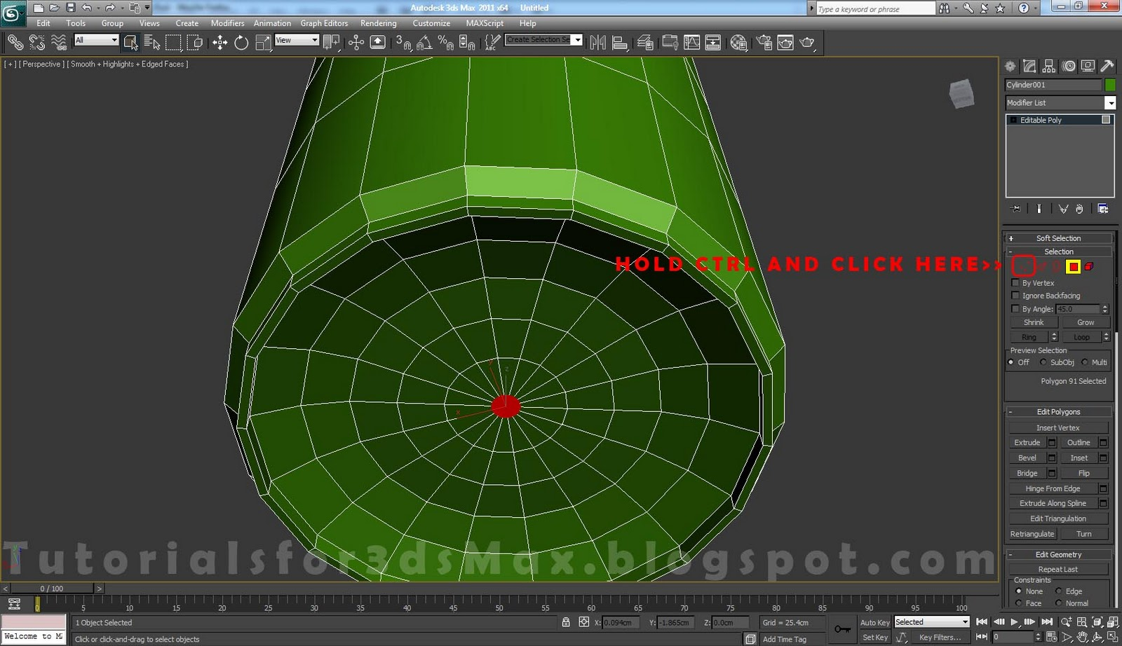 how to delete edge and vertex in 3ds max