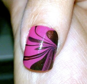 missglamourgiirl water marble