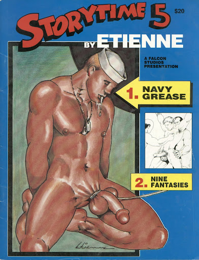 Etienne: Navy Grease