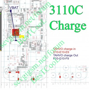 3110c Charging ic problem,Not Charging,Charger Not Support,Charging