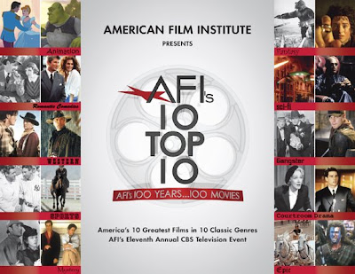 afi top movies