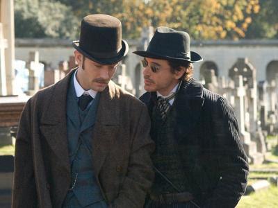 Sherlock Holmes (version 2010 de Guy Ritchie) Sherlock+Holmes+JL+RDJ