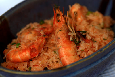 Rice with Shripm Scampi