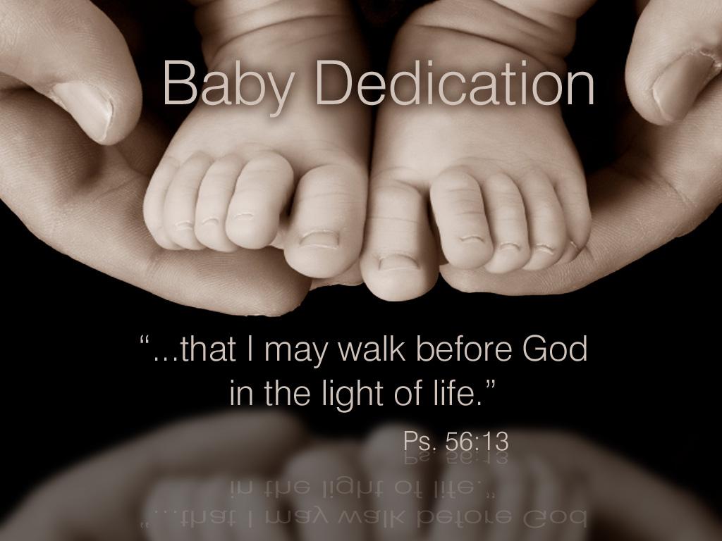 baby dedication1 Free Month Membership! by missdannigee