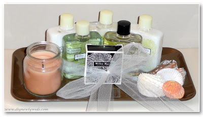 Diy newlyweds diy home decorating ideas projects for Bathroom tray for toiletries