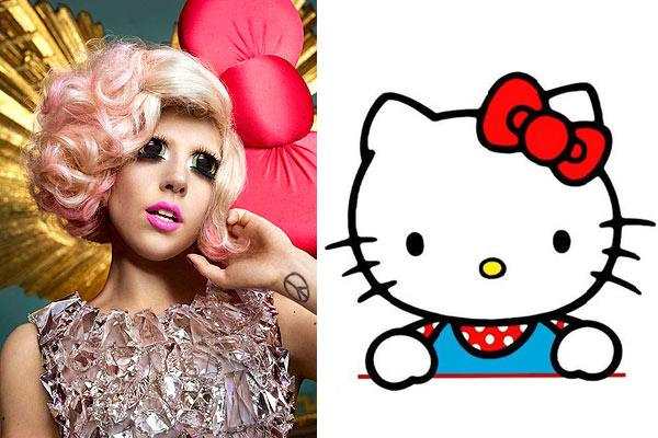 Lady Gaga As Hello Kitty. Posted by Tammy at 11:05 AM .