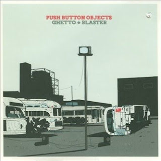 Push Button Objects Ghetto Blaster