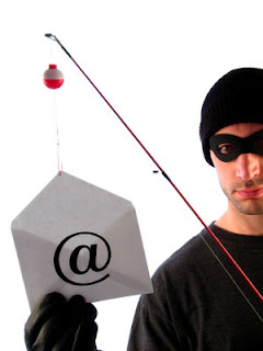 phishing, hacking, identity theft